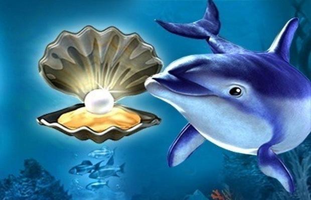 Бесплатная слот- машина Dolphins pearl