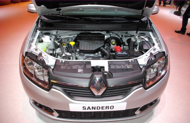 Характеристики двигателя Рено Сандеро