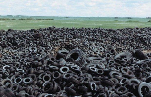 Утилизация шин сохранит природу