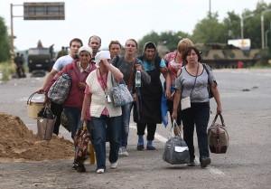 Помощь беженцам с Украины