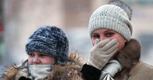 Аномальные морозы на Украине в 2016 году