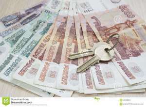 money-keys-russian-ruble-apartment-table-45458324[1]