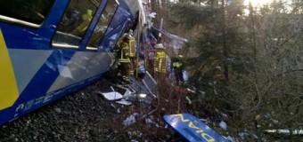 В Германии столкнулись два поезда (фото, видео)