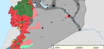 Свежие новости из Сирии на 23 02 2016: Карта боевых действий и сводки раненых и убитых