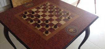 Шахматный стол своими руками