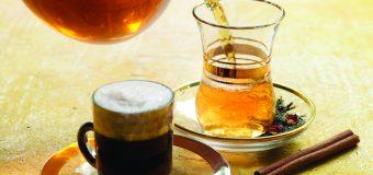 Приобретение чая и кофе