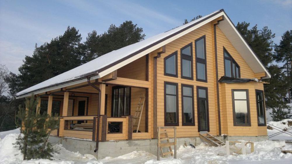 Экологичность домов из клееного бруса