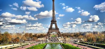 Франция — Париж: Место для любви