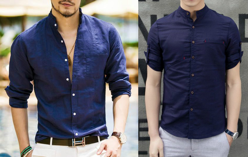 Фасон мужской рубашки