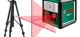 Работа с лазерными нивелирами. Виды штативов и материалы изготовления