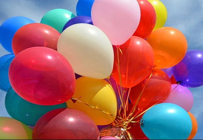 Воздушные шары с гелием с доставкой в Москве