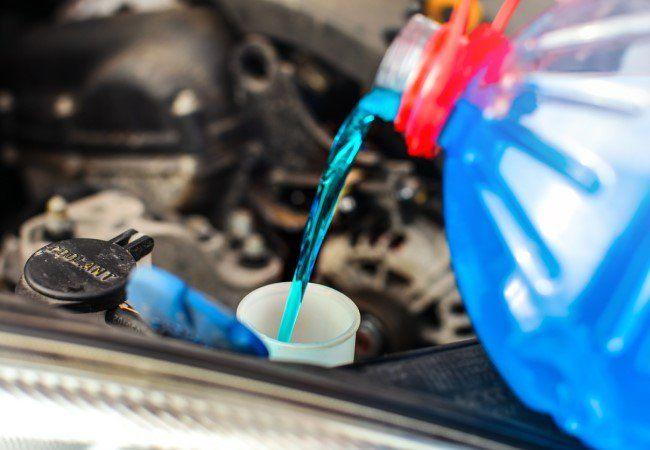 Автомобильная химия. Омыватели, масла, антифриз