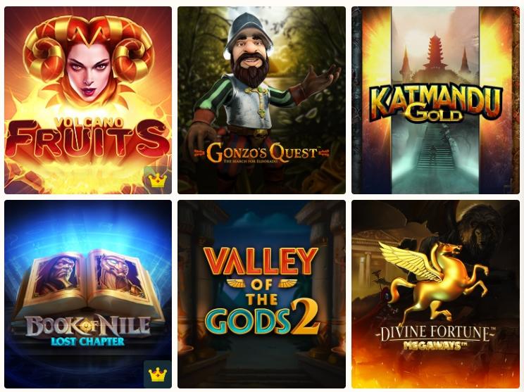Netgame Casino — экспедиция за большими выигрышами
