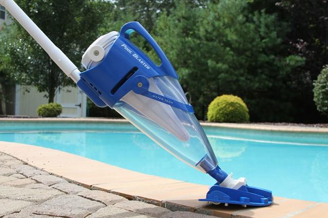 Использование турбощетки. Специальные пылесосы для чистки бассейна